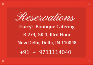 Reservations - Harry's Boutique Catering